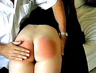 A pair of schoolgirls get their juicy asses spanked paddled and caned