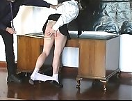 Very severe caning